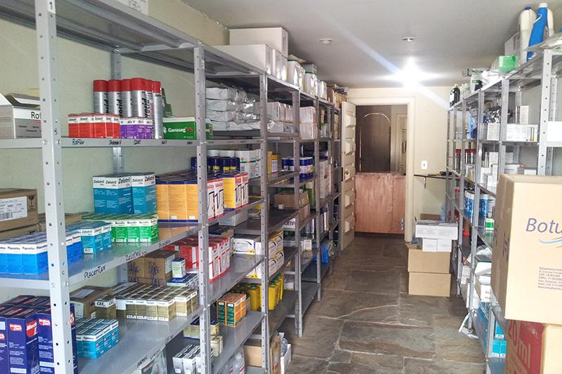Estoque de produtos e materiais Gepec